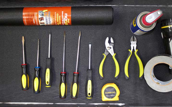 tool box liner for your garage