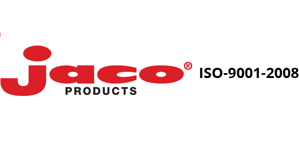 The Jaco Products logo, manufacturer of machined delrin.