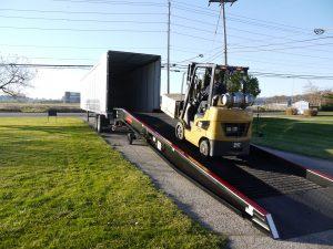 Copperloy semi-truck ramps