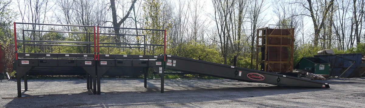 Portable Loading Dock Platforms from Copperloy