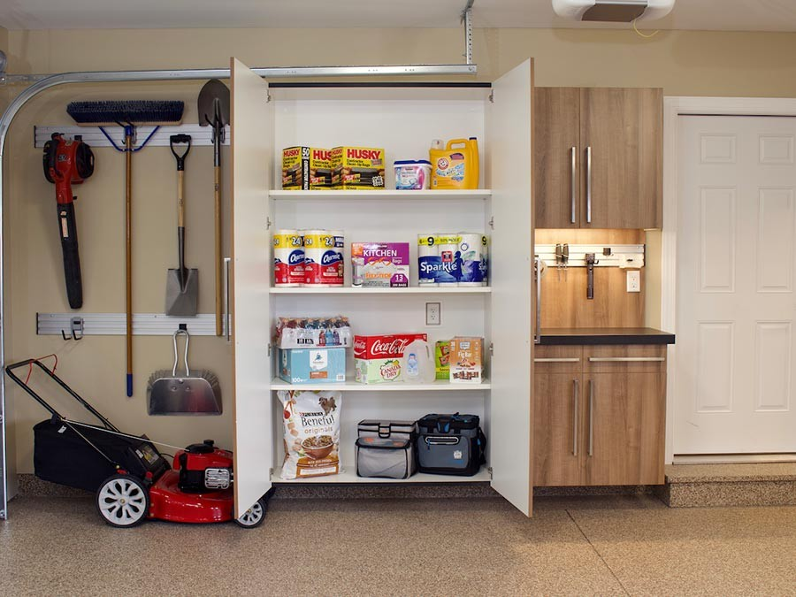 garage storage systems - Ohio Garage Interiors - Garage Flooring, Basement Flooring - Epoxy Coating Solutions - Residential and Commercial