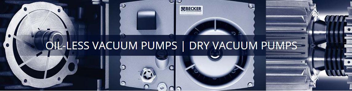 Oil-less Vacuum Pump