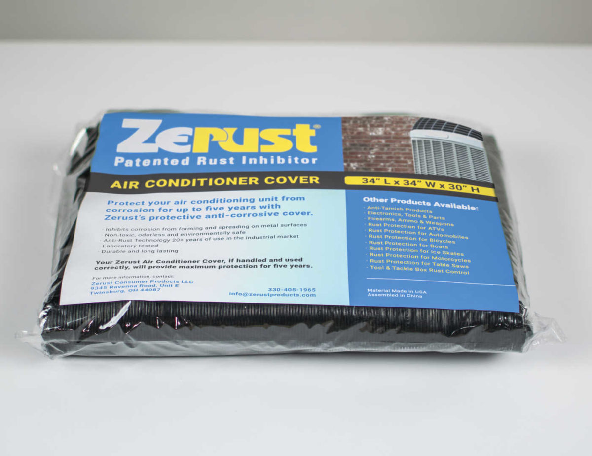 Zerust Air Conditioner Cover - Zerust Consumer Products | Rust & Corrosion Prevention Products