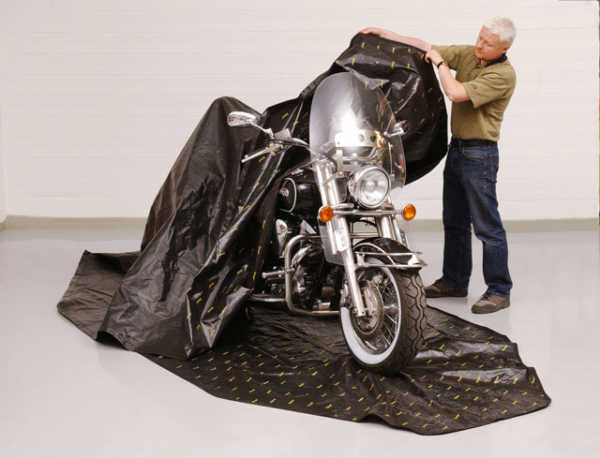 Motorcycle Storage Bag - Zerust Consumer Products | Rust & Corrosion Prevention Products