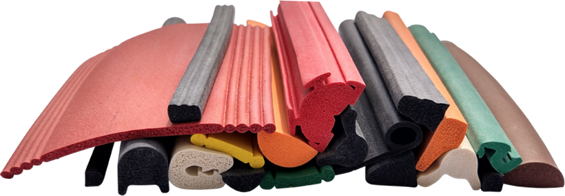 rubber extrusion part samples