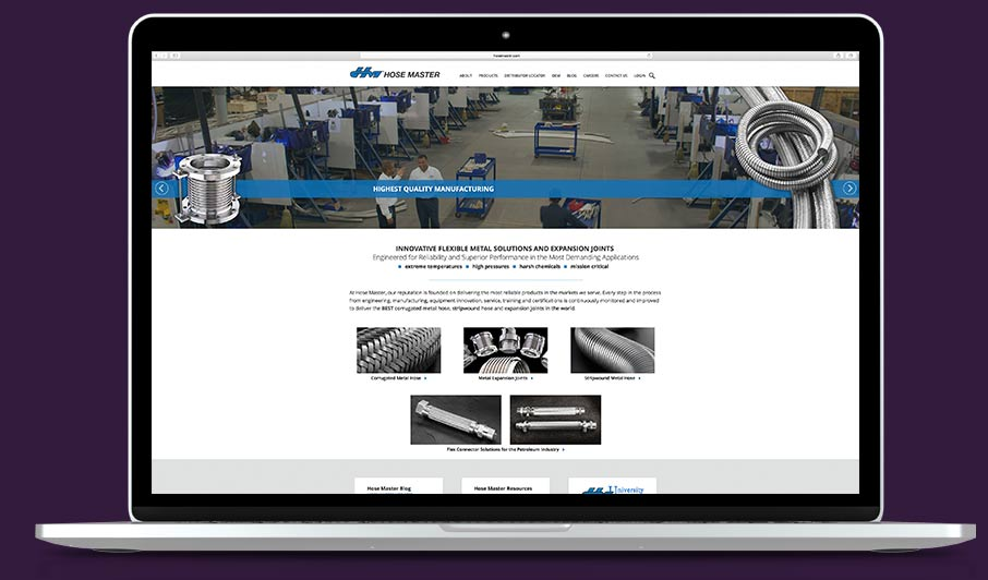 High-Quality Industrial Website Design Services From ADVAN
