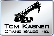 tower crane for sale Tom Kasner Crane Sales, Inc. logo